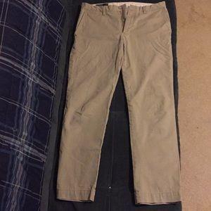 Men's polo khaki pants